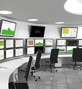 Ansicht des Operationscenters