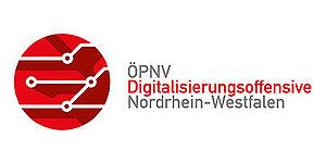 Logo der ÖPNV Digitalisierungsoffensive Nordrhein-Westfalen