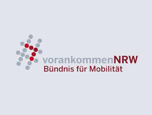 Logo vorankommenNRW Bündnis für Mobilität